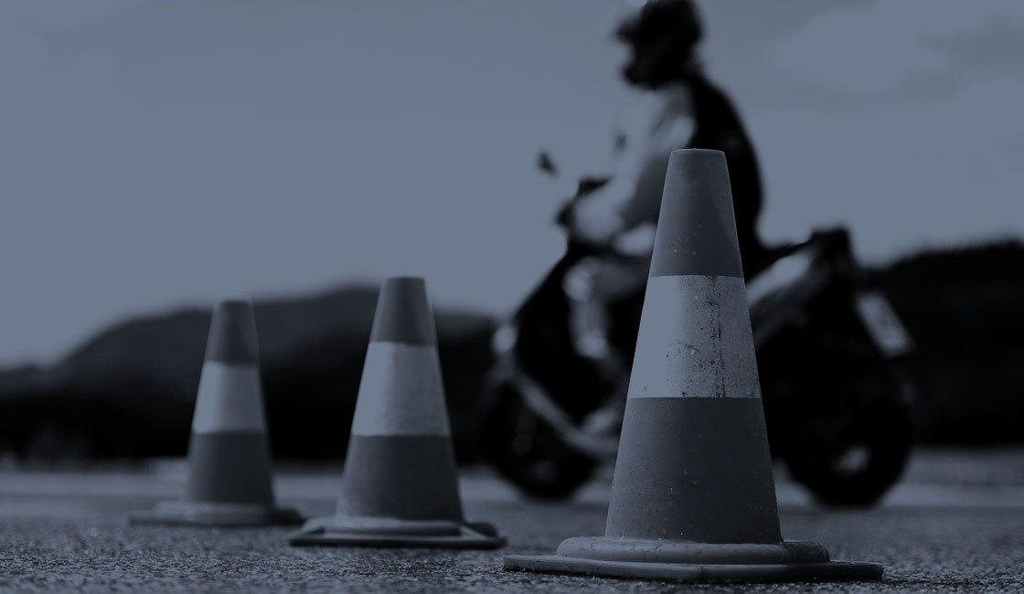 Обучение на скутере